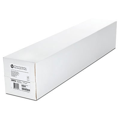 HP 2-pack Premium Matte Polypropylene-1524 mm x 22.9 m (60 in x 75 ft), 7.5 mil/130 g/m2, C5G02A