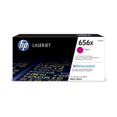 HP 656X High Yield Magenta Original LaserJet Toner Catridge (CF463X)