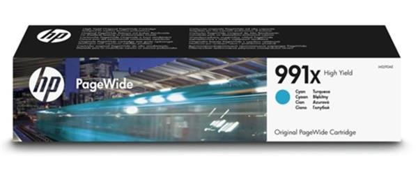 HP 991X High Yield Cyan Original PageWide Cartridge (M0J90AE)