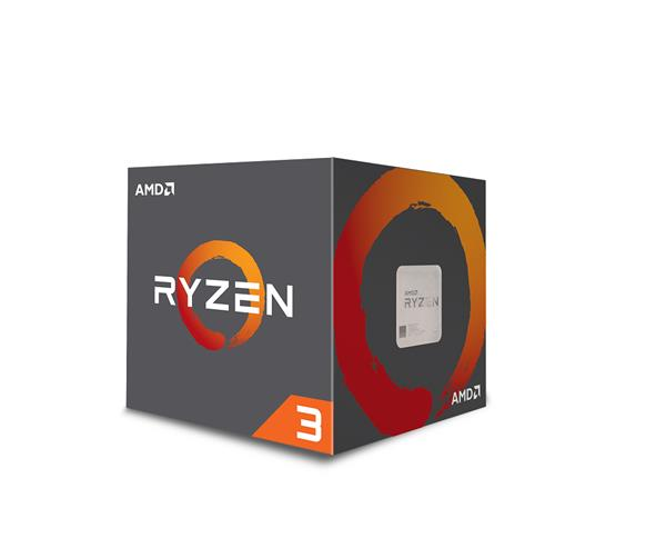 AMD, Ryzen 3 1200, Processor BOX, soc. AM4, 65W, s Wraith Stealth chladičom