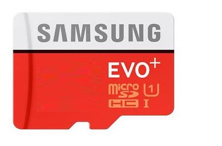 256 GB . microSDHC karta Samsung EVO Plus + adapter