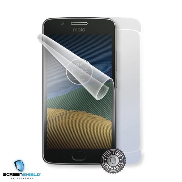Screenshield MOTOROLA Moto G5 XT1676 - Film for display + body protection