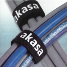 AKASA Cable Tidy Kit - omotávač káblov, 5ks 165x16mm