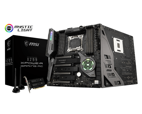 MSI X299 XPOWER GAMING AC/Socket 2066/DDR4/USB3.1/GL/RAID/E-ATX