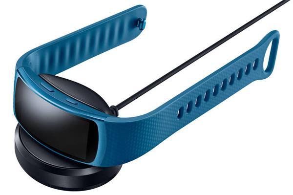 Samsung bezdrôtová dokovacia stanica Gear Fit2, Čierna
