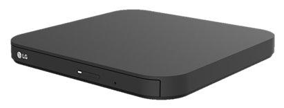 LG DVD+/-RW GP90EB70 DL externá USB 2.0, BOX cierna