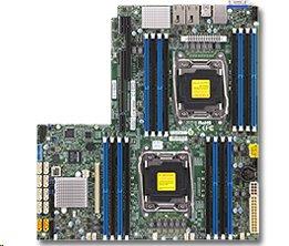 Supermicro 2xLGA2011-3, iC612 16x DDR4 ECC,10xSATA3,(PCI-E 3.0 x32),2x10GbE LAN, 2x PCI-E 3.0 NVMe x4,IPMI