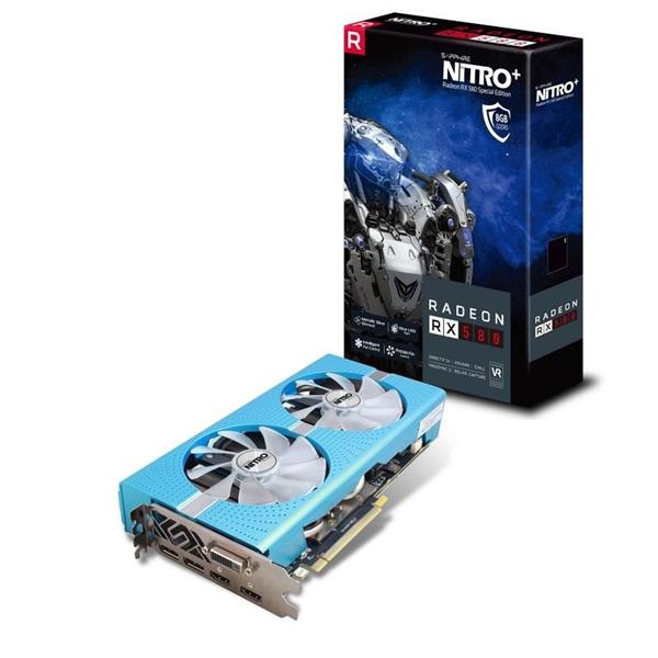 Sapphire NITRO+ Radeon RX 580 Special Edition 8GB/256-bit GDDR5 DUAL HDMI/ DVI-D/ DUAL DP