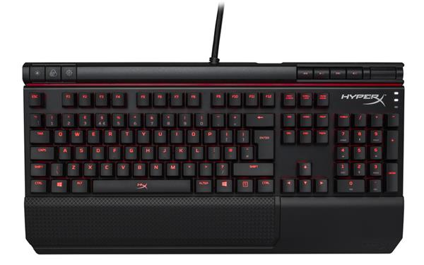 Kingston HyperX Alloy Elite mechanická hráčska klávesnica, MX Red-US2