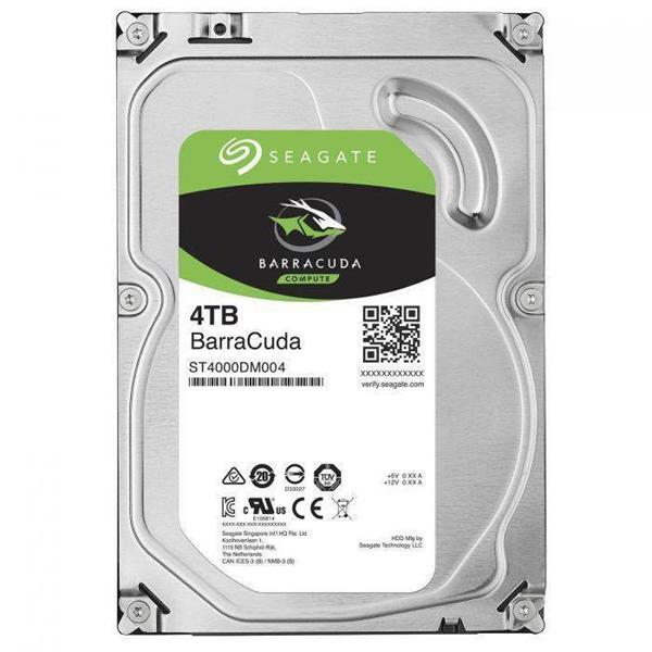 Seagate Desktop BarraCuda 4TB 256MB SATA III 6Gbit/s