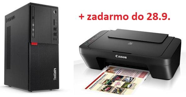 Lenovo TC M710t TWR i7-7700 4.2GHz UMA 4GB 256GB SSD DVD W10Pro cierny 3yOS