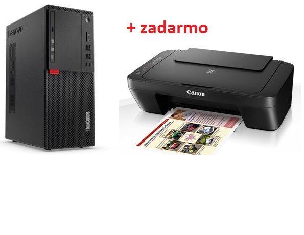 Lenovo TC M710t TWR i7-7700 4.2GHz NVIDIA GT730/2GB 8GB 500GB DVD W10 cierny 3yOS