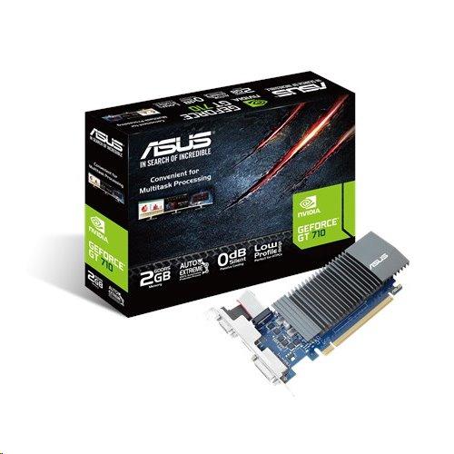 ASUS GT710-SL-2GD5 2GB/64-bit, GDDR5, D-Sub, DVI, HDMI, LP