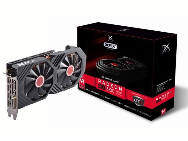 XFX Radeon RX 580 GTS XXX EDITION 8GB/256-bit DDR5 3xDP HDMI