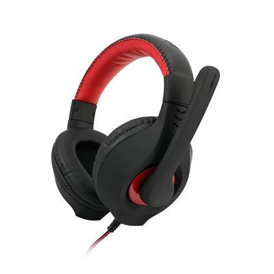 C-TECH hráčske slúchadla s mikrofónom Nemesis V2 (GHS-14R) Čierno-červené