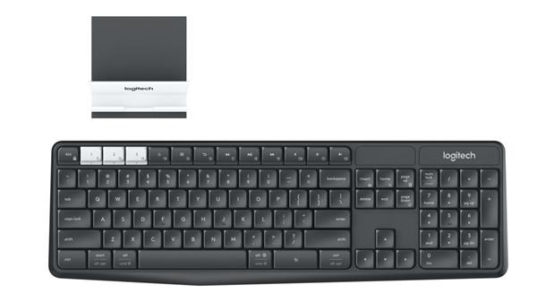 Logitech® Wireless Keyboard K375s, CZ layout