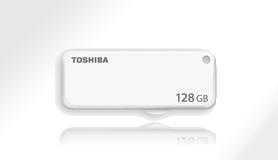 128 GB . USB kľúč . TOSHIBA - TransMemory biely