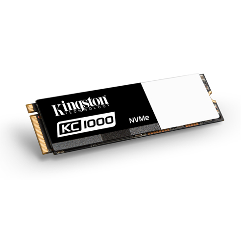 Kingston 960GB KC1000 SSD PCIe Gen3 x4 NVMe M.2 2280 ( r2700MB/s, w1600MB/s )