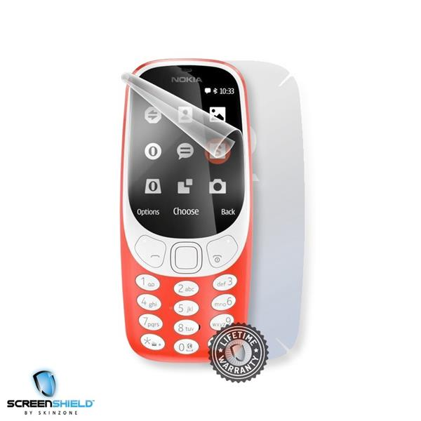 Screenshield NOKIA 3310 (2017) - Film for display + body protection