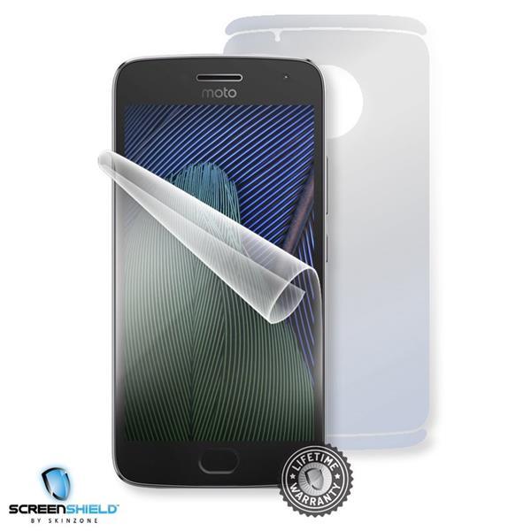 Screenshield MOTOROLA Moto G5 PLUS XT1685 - Film for display + body protection