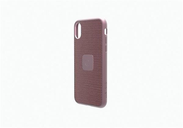 Cygnett prémiový obal UrbanShield Carbon Fibre pre iPhone X, ružovo - zlatý