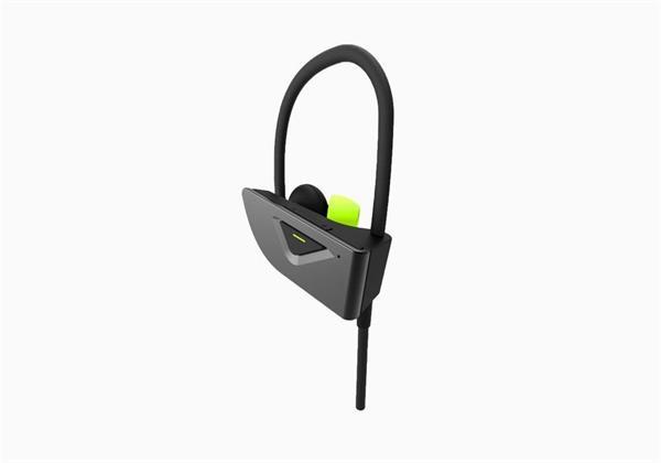 Cygnett FreeRun Bluetooth slúchadlá do uší pre športovcov, šedo-zelené