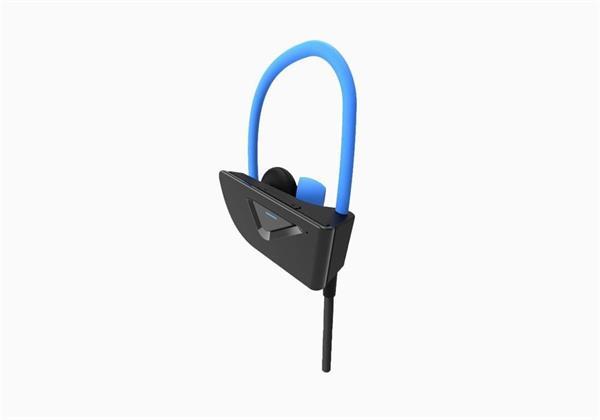 Cygnett Free Run Bluetooth slúchadlá do uší pre športovcov, čierno-modré