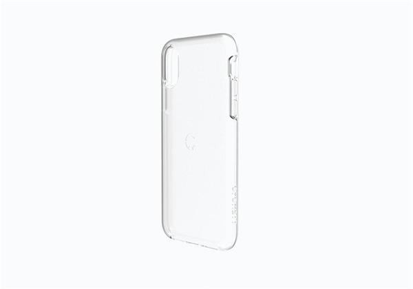 Cygnett StealthShield Crystal obal pre iPhone X s vysokou odolnosťou vojenskej triedy, priehľadný