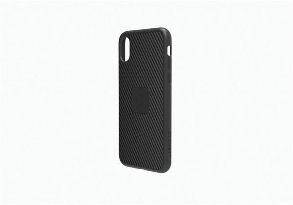 Cygnett UrbanShield Carbon Fibre prémiový obal pre iPhone X, čierny
