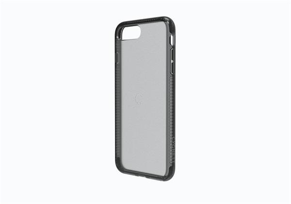 Cygnett Orbit obal pre iPhone 7/8 z PC/TPU, priehľadný, čierny