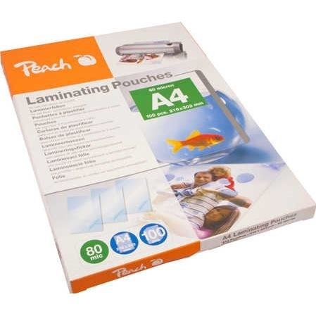 Peach Laminating Pouch A4 (216x303mm), 80mic