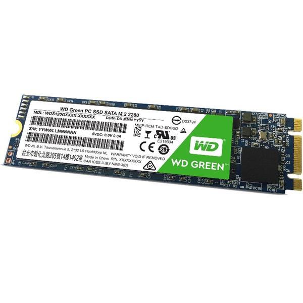 WD Green 240GB SSD SATA III 6Gbs, M.2 2280, ( r545MB/s, wMB/s )