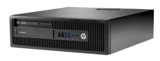 HP EliteDesk 705 G3 SFF, R3Pro-1200, R7 430/2GB, 4GB, 500GB, DVDRW, W10Pro, 3Y