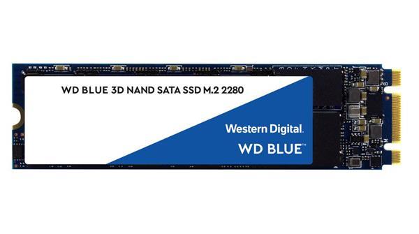 WD Blue 500GB SSD SATA III 6Gbs, M.2 2280, ( r560MB/s, w530MB/s )