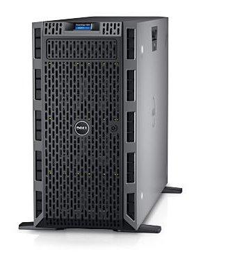 PE T630/Chassis 8 x 3.5 HotPlug/Xeon E5-2620 v4/16GB/600GB/On-Board LOM DP/PERC H730/iDRAC8 Exp/3Y Basic NBD