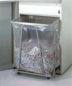 HSM Odpadové vrecia pre skartátory 348x195x800mm 100ks