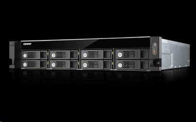 QNAP™ UX-800U-RP 8 bay RAID Expansion Enclosure 2U rack RP PSU