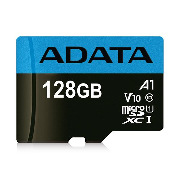 128 GB . microSDHC/SDXC UHS-I karta ADATA Premier class 10 Ultra High Speed