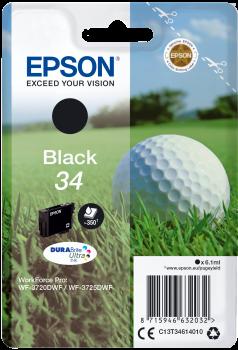 Epson atrament WF-3720 black 6.1ml - 350str.