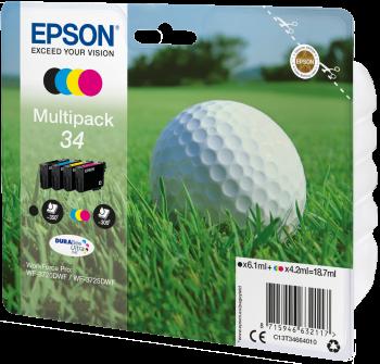Epson atrament WF-3720 CMYK