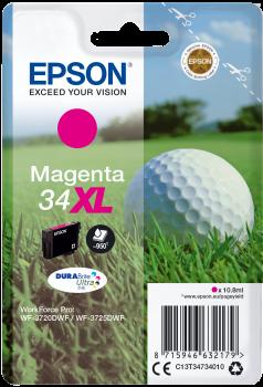 Epson atrament WF-3720 magenta XL 10.8ml - 950str.