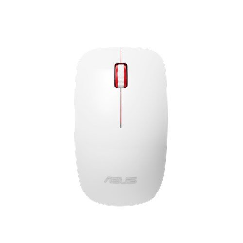 ASUS MOUSE WT300 Wireless - optická bezdrôtová myš; bielo-červená