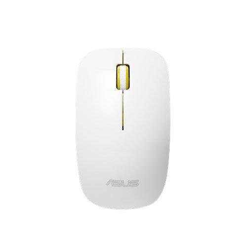 ASUS MOUSE WT300 Wireless - optická bezdrôtová myš; bielo-žltá