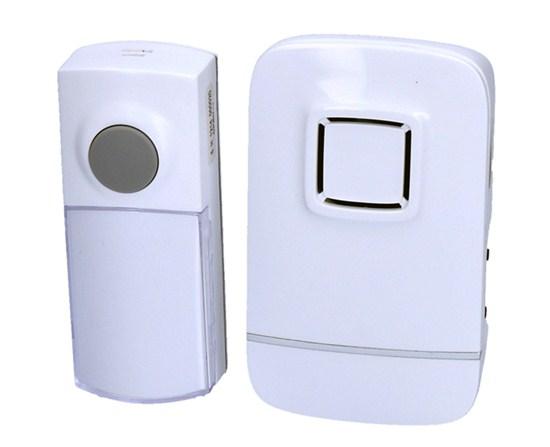 Solight bezdrôtový zvonček, do zásuvky, 180m, biely