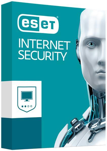 BOX ESET Internet Security pre 3PC / 1 rok