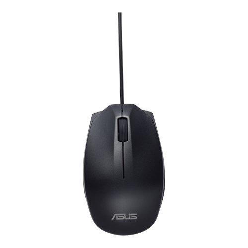 ASUS MOUSE UT280 Wired - optická drôtová myš; čierna