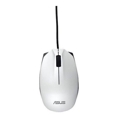 ASUS MOUSE UT280 Wired - optická drôtová myš; biela