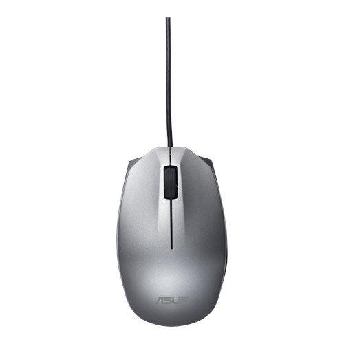 ASUS MOUSE UT280 Wired - optická drôtová myš; strieborná