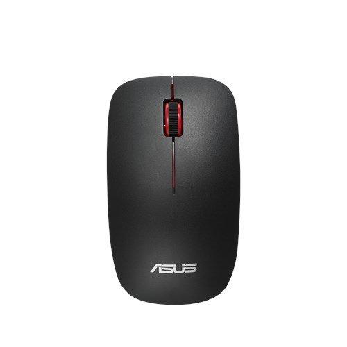 ASUS MOUSE WT300 Wireless - optická bezdrôtová myš; čierno-červená