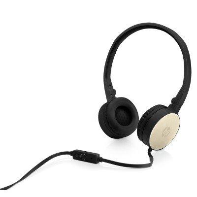 HP Stereo Headset H2800 (Black w. Silk Gold)
